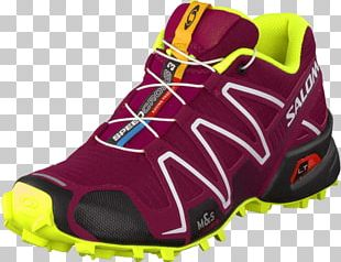 Sneakers Trail Running Shoe Salomon Group PNG