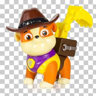Puppy Patrol Toy Dog Model Figure PNG