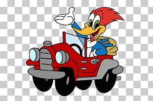 Woody Woodpecker Sheriff Woody Bugs Bunny Car PNG