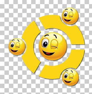 Smiley Desktop Wink Animation PNG