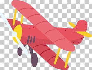 Airplane Aircraft Cartoon Illustration PNG