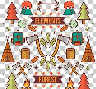 Camping Tree PNG