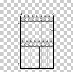 Wrought Iron Gate Fence Steel PNG