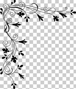 Japanese Border Designs Flower Floral Design PNG
