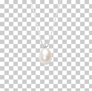Pearl Locket Necklace Body Jewellery PNG
