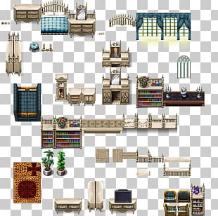 RPG Maker MV Furniture Tile-based Video Game Pixel Art RPG Maker VX PNG