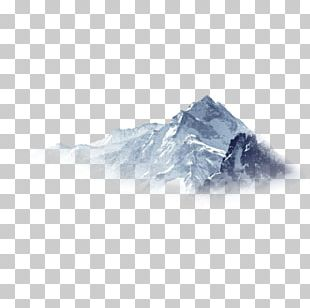 Snowflake Mountain PNG
