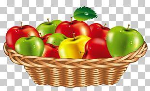 Fruit Gift Basket PNG