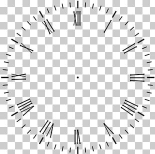 Clock Face Moving Faces Roman Numerals Watch PNG