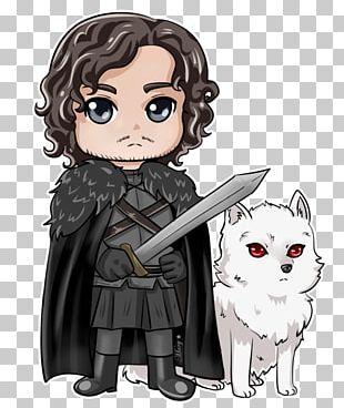 Jon Snow Game Of Thrones Daenerys Targaryen Chibi Drawing PNG