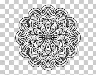 Mandala Coloring Book Drawing Floral Design PNG