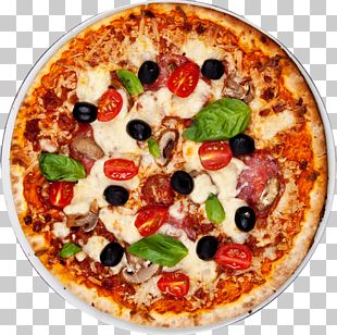 New York-style Pizza Italian Cuisine Take-out Pizza Margherita PNG