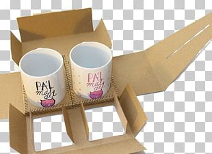 Packaging And Labeling Mug Box Cup PNG