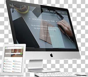 Mockup IMac Responsive Web Design Apple PNG