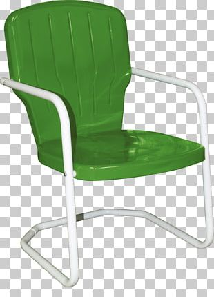 Table Garden Furniture Chair Patio Retro Style PNG