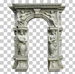 Stone Sculpture Stone Carving Arch PNG