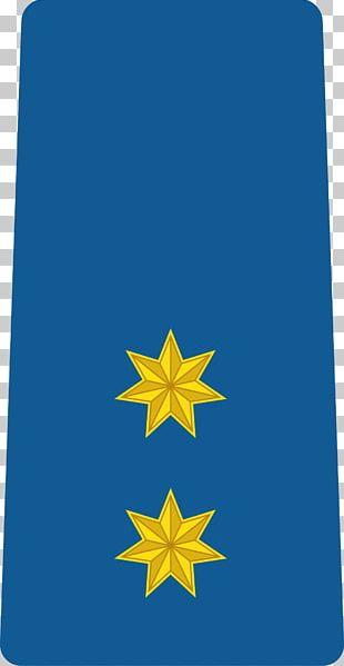 Flag Of Jordan Cobalt Blue Leaf Line PNG