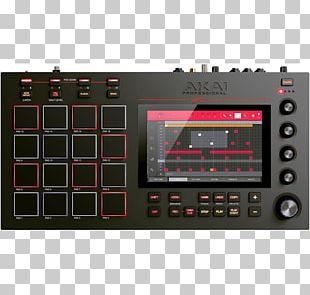 Akai MPC Akai Professional MPC Live Sampler Musical Instruments PNG