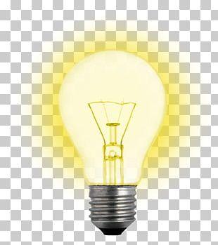 Incandescent Light Bulb Electric Light Lighting PNG