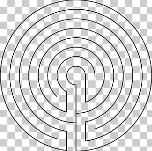 Maze Concentric Objects Drawing PNG