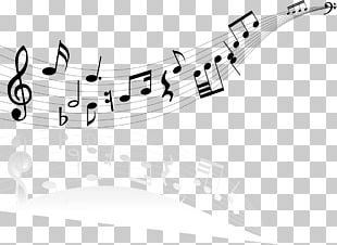 Musical Note Staff Stock Photography PNG