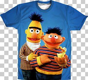 Bert Ernie Big Bird Elmo Oscar The Grouch PNG
