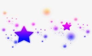 Magic Star Dynamic Light Effect PNG