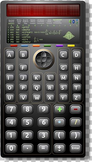 Solar-powered Calculator Scientific Calculator Solar Energy PNG