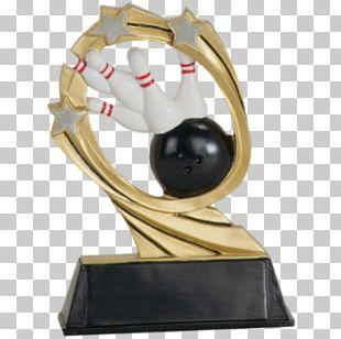 Trophy Award Medal Bowling Commemorative Plaque PNG