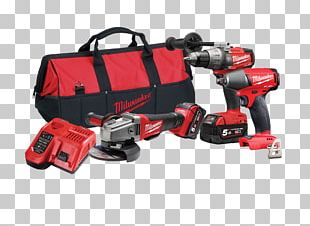 Cordless Milwaukee Electric Tool Corporation Hammer Drill Power Tool PNG