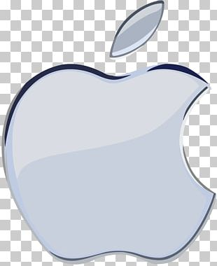 Apple Logo Silver Desktop PNG