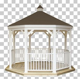 Roof Shingle Table Gazebo Cottage Garden Pergola PNG