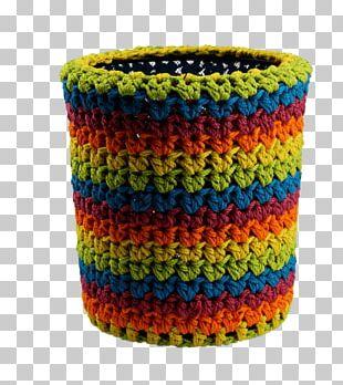Flowerpot Crochet PNG