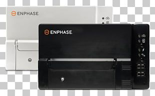 Enphase Energy Solar Micro-inverter Solar Panels Solar Power Solar Inverter PNG