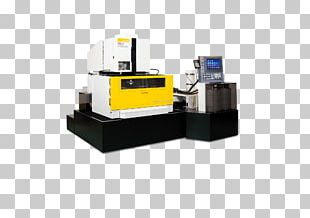 Electrical Discharge Machining FANUC Computer Numerical Control Manufacturing Machine PNG