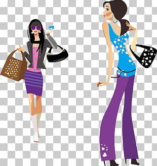 Fashion Illustration Female Illustration PNG