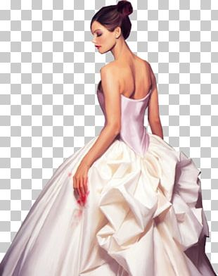 Wedding Dress Marriage Bride PNG
