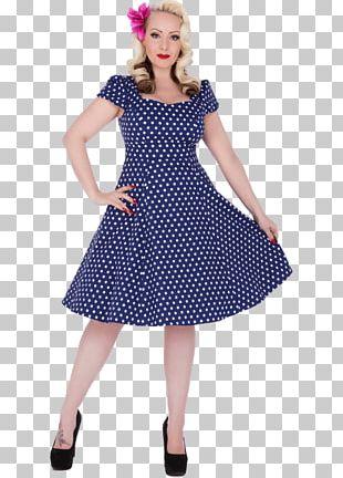 1950s Dress Neckline Vintage Clothing Polka Dot PNG