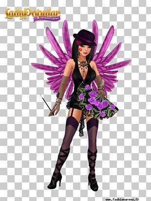 Lady Popular Costume Fashion Halloween PNG