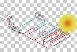 Concentrated Solar Power Solar Thermal Energy Photovoltaic Power Station Solar Energy PNG