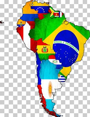 Flags Of South America World Map United States PNG