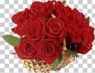 Flower Delivery Floristry Rose Basket PNG