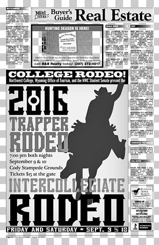 Poster Cowboy PNG