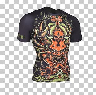 T-shirt Rash Guard Brazilian Jiu-jitsu Gi Cycling Jersey PNG