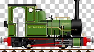 Talyllyn Railway Rail Transport Train Dolgoch PNG