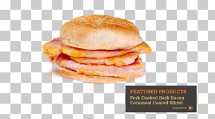 McGriddles Hot Dog Bacon Fast Food Slider PNG