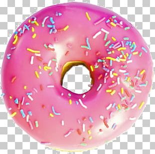Donuts Boston Cream Doughnut Trifle Frosting & Icing Sprinkles PNG