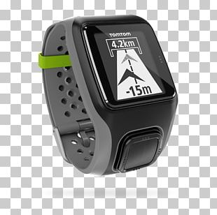 GPS Watch Sport Cadence Activity Tracker TomTom PNG