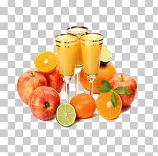 Orange Juice Apple Juice Food Drink PNG