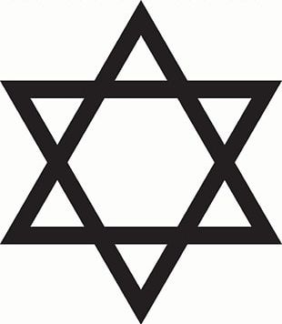 Star Of David Judaism PNG